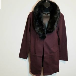 KELLY by Clinton Kelly Size M Ponte Jacket